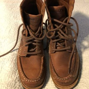 LL Bean Leather boots size 8.5